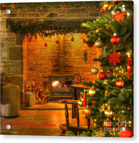 Tinsel And Fire Acrylic Print