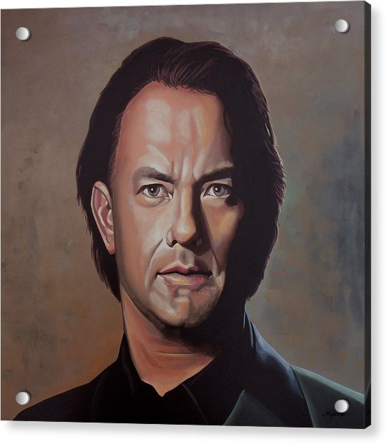 Tom Hanks Acrylic Print