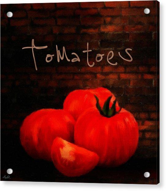 Tomatoes II Acrylic Print