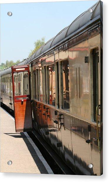 Train Transport Acrylic Print