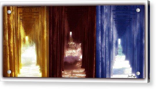 Transforming Waters  Orginal Piece Acrylic Print