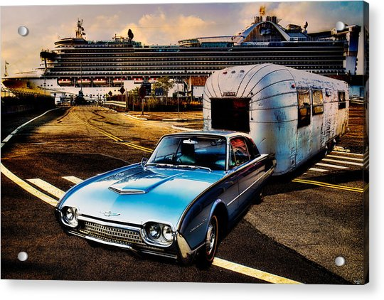 Acrylic Print featuring the photograph Travelin' In Style by Chris Lord