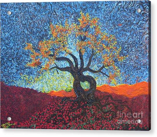Tree Of Heart Acrylic Print