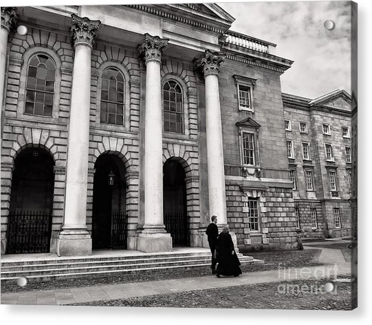 Trinity College Examination Hall Acrylic Print