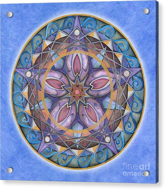 Truth Mandala Acrylic Print