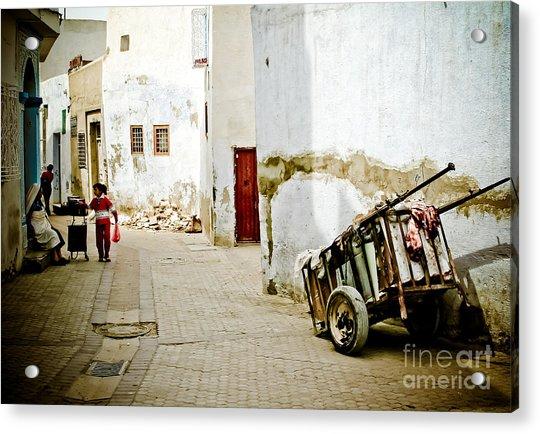 Tunisian Girl Acrylic Print