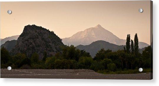 Turkish Mountains Acrylic Print