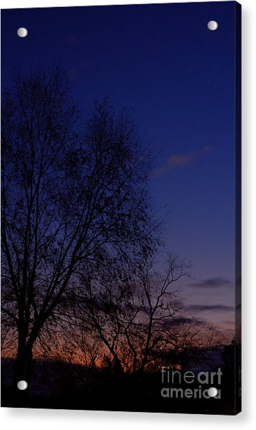 Twilight Crack Of Dawn Acrylic Print
