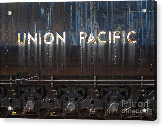 Union Pacific - Big Boy Tender Acrylic Print