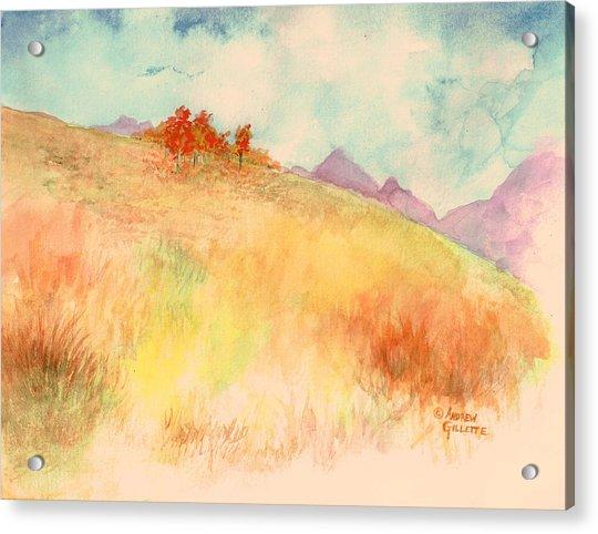 Untitled Autumn Piece Acrylic Print