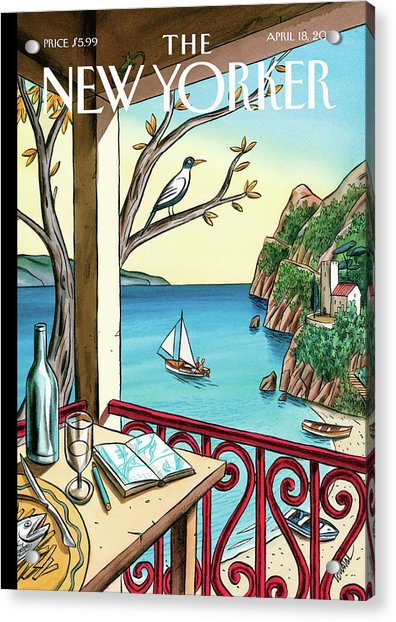 New Yorker April 18th, 2011 Acrylic Print