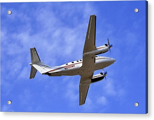 Acrylic Print featuring the photograph Up And Away by Jason Politte
