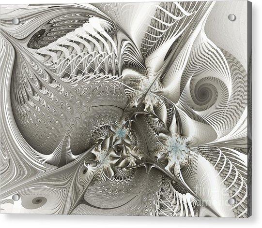 Utopia-fractal Art Acrylic Print