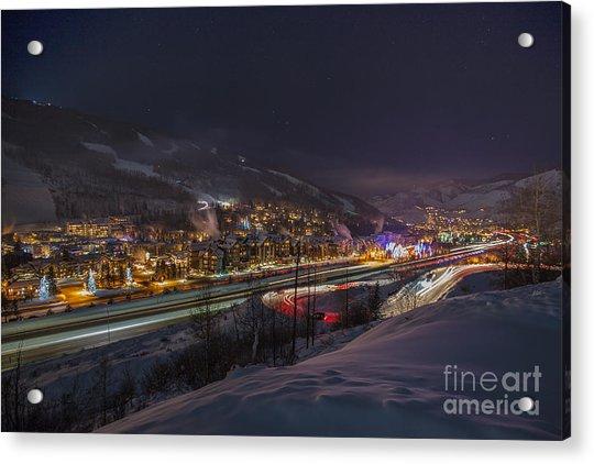 Valley Traffic Acrylic Print