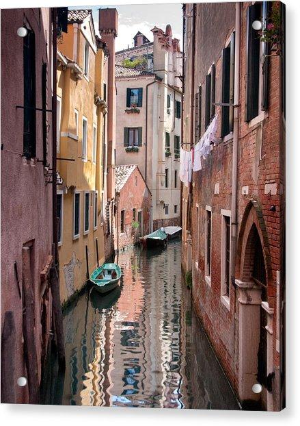 Venetian Alleyway Acrylic Print