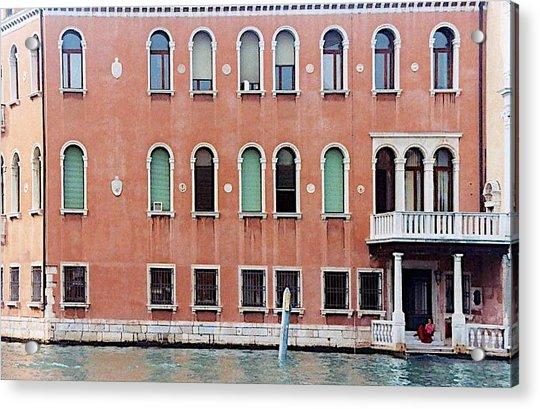 Venice Apartment Acrylic Print
