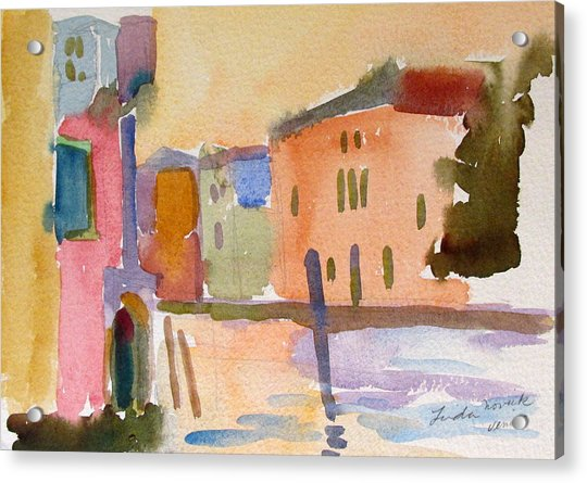 Venice Dawn Acrylic Print