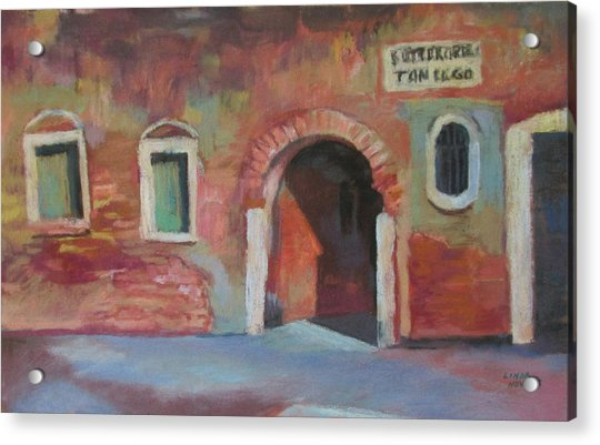 Venice Doorway Acrylic Print