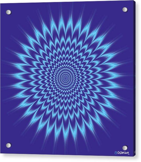 Vibrating Colors Acrylic Print