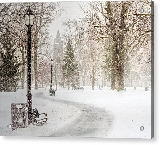 Acrylic Print featuring the photograph Victoria Park by Garvin Hunter