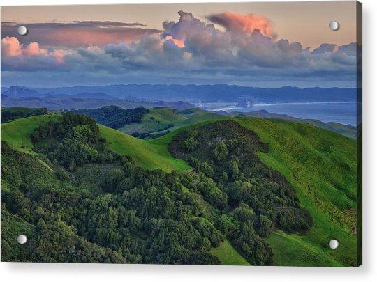 View Of Morro Bay Acrylic Print