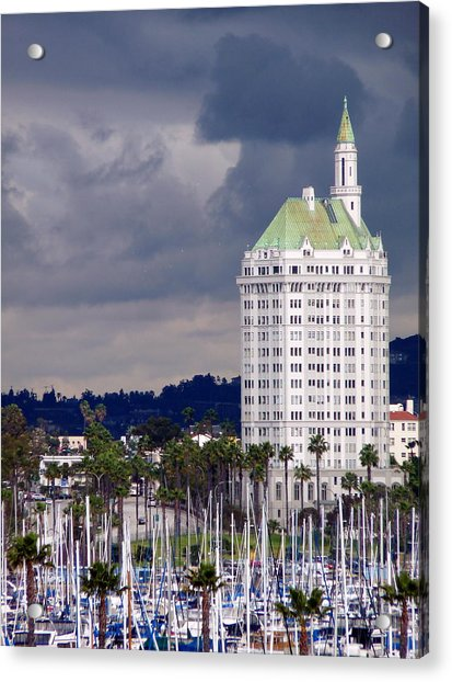 Villa Riviera Long Beach Acrylic Print
