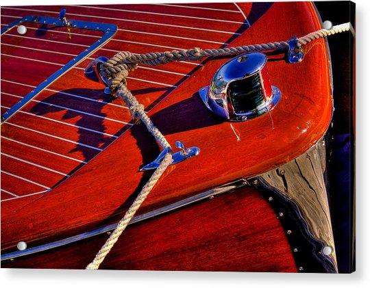 Vintage Chris Craft Boat Acrylic Print