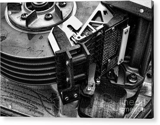 Vintage Hard Drive Acrylic Print