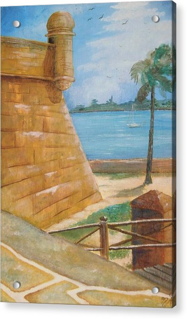 Warm Days In St. Augustine Acrylic Print