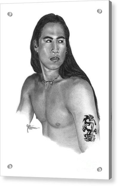 Warrior Acrylic Print