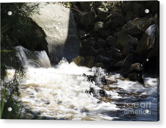 Water Flowing Acrylic Print