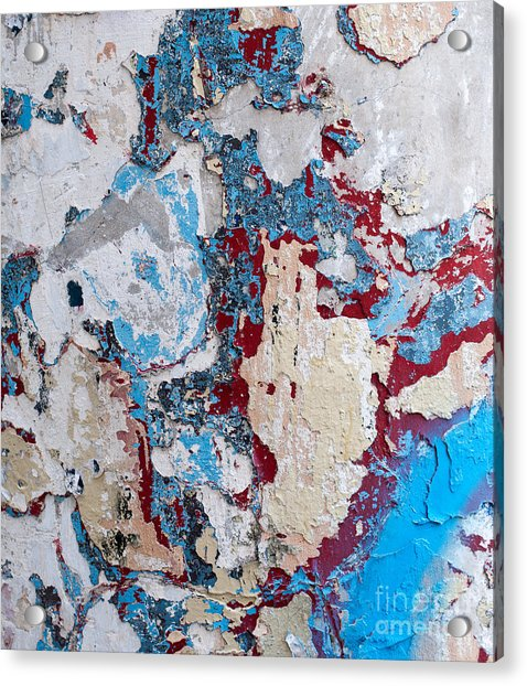 Weathered Wall 02 Acrylic Print