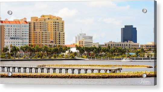 West Palm Beach Acrylic Print