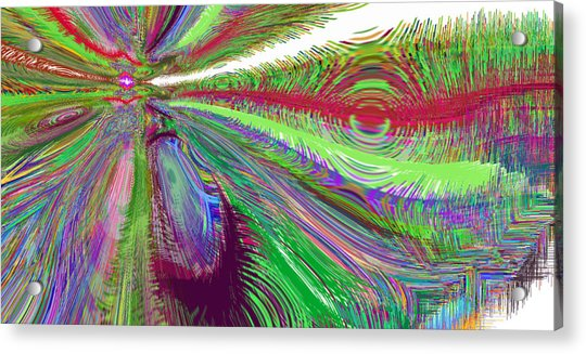 Acrylic Print featuring the digital art What's The Next Big Thing Aapl? by Stephen Coenen
