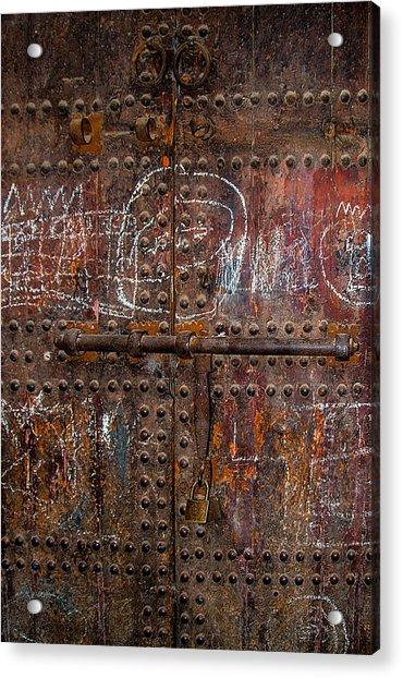 Marrakech Door Acrylic Print