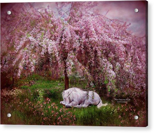 Where Unicorn's Dream Acrylic Print
