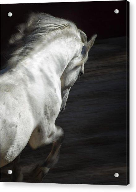 White Lightning Acrylic Print