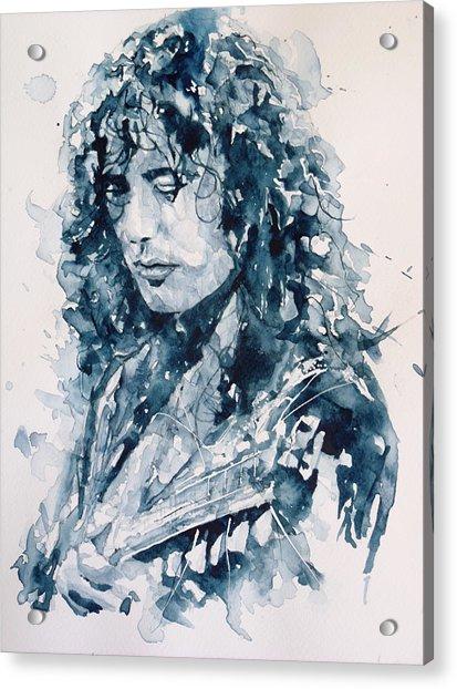 Whole Lotta Love Jimmy Page Acrylic Print