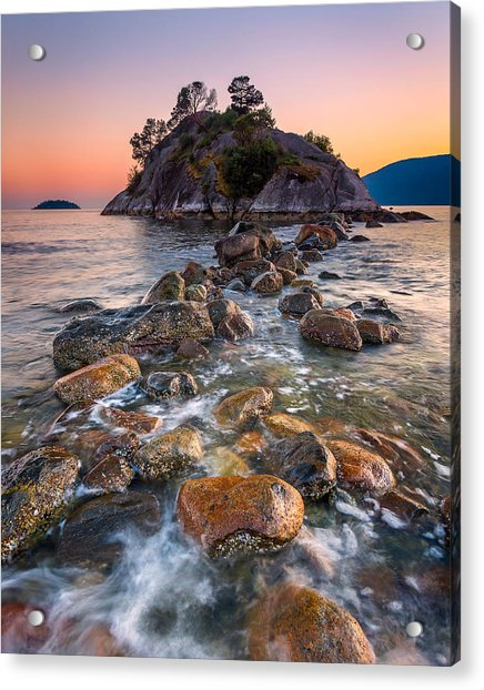 Whyte Islet Acrylic Print