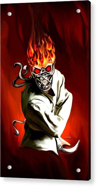 Wicked Insanity By Spano Acrylic Print