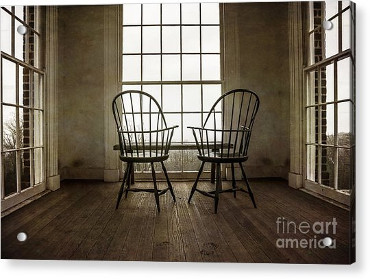 Will You Sit With Me? Acrylic Print