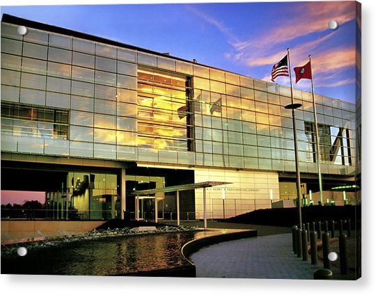Acrylic Print featuring the photograph William Jefferson Clinton Presidential Library by Jason Politte