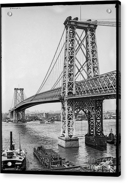 Williamsburg Bridge Acrylic Print