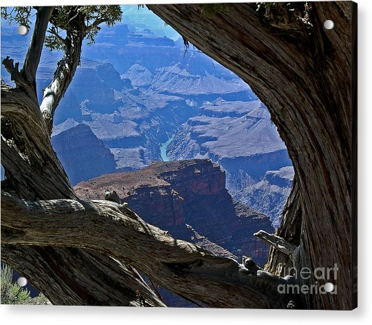 Window In Time Acrylic Print