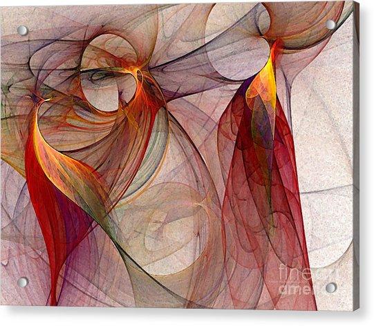Winged-abstract Art Acrylic Print