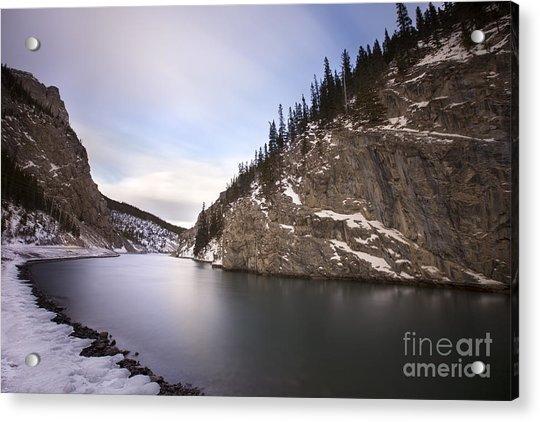 Winter Calm Acrylic Print