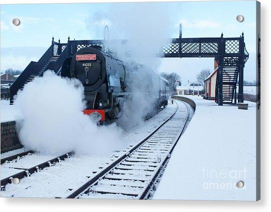 Winter Departure Acrylic Print