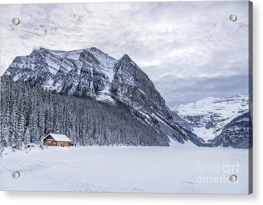 Winter Getaway Acrylic Print