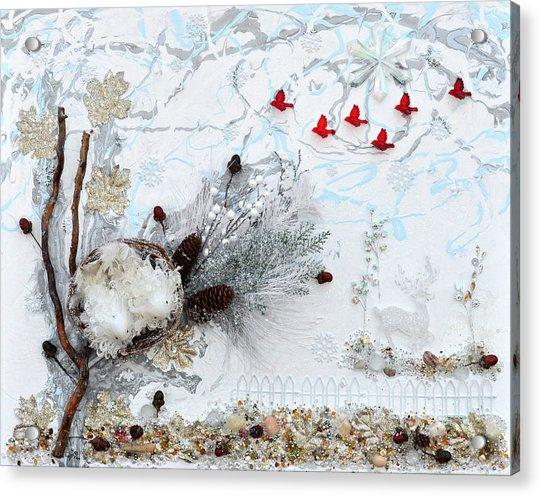 Winter Wonderland Acrylic Print