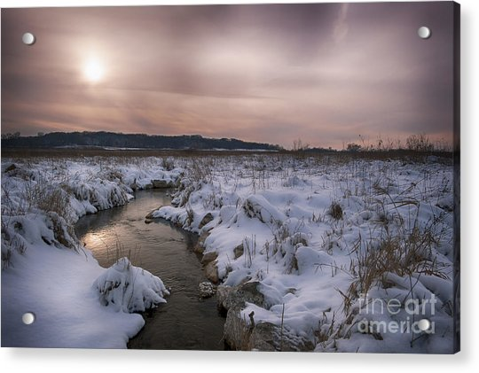 Winter's Blanket... Acrylic Print